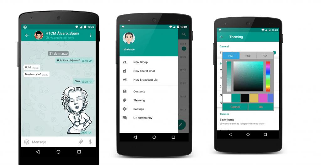 دانلود تلگرام پلاس Telegram Plus Messenger 5.9.0.2 برای اندروید