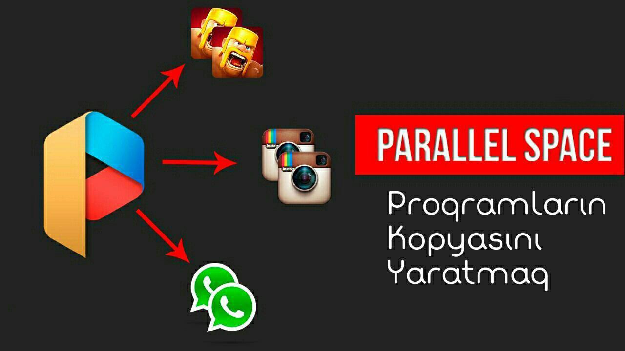 دانلود پارالل اسپیس Parallel Space 4.0.8984 برنامه ساخت چند اکانت در اندروید