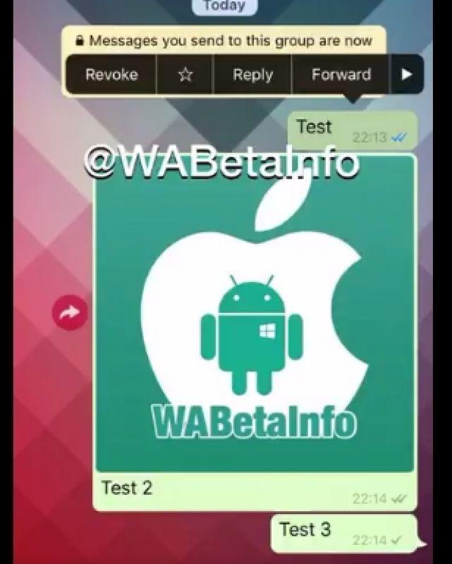 به زودی قابلیت ویرایش یا لغو پیام به اپلیکیشن واتس اپ اضافه میشود