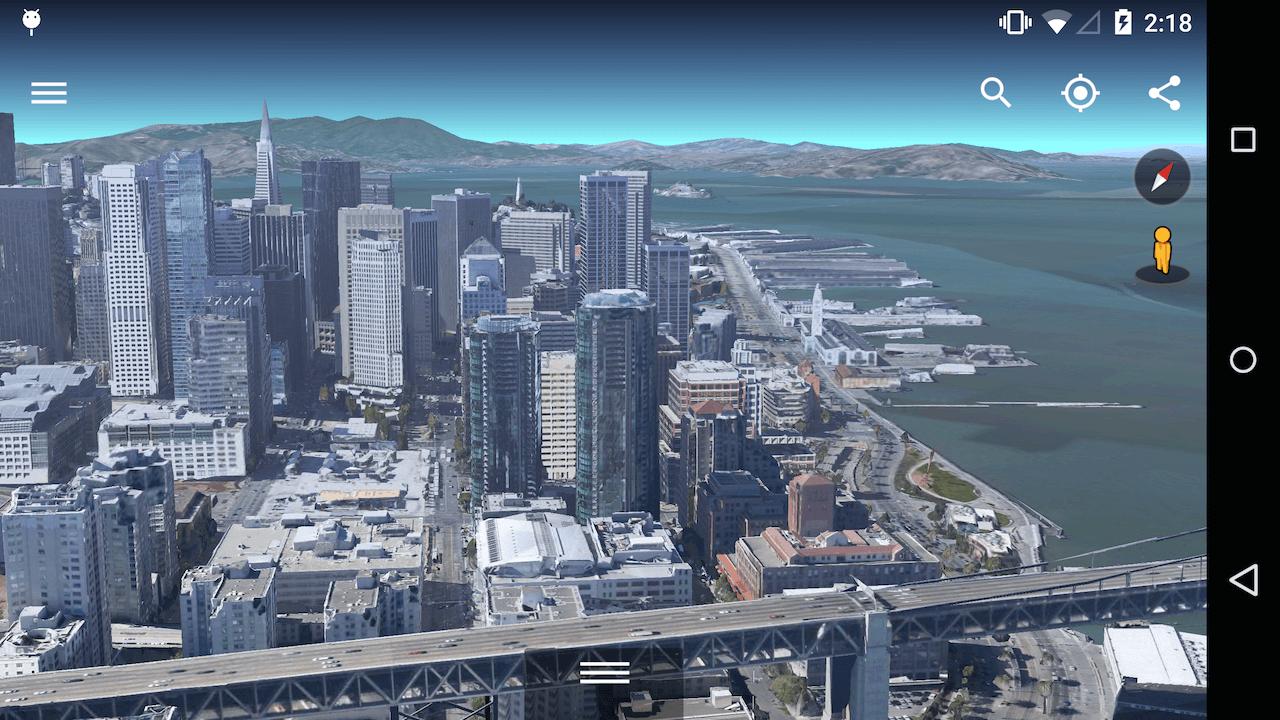 دانلود گوگل ارث Google Earth 9.2.47.7 برای اندروید + آیفون