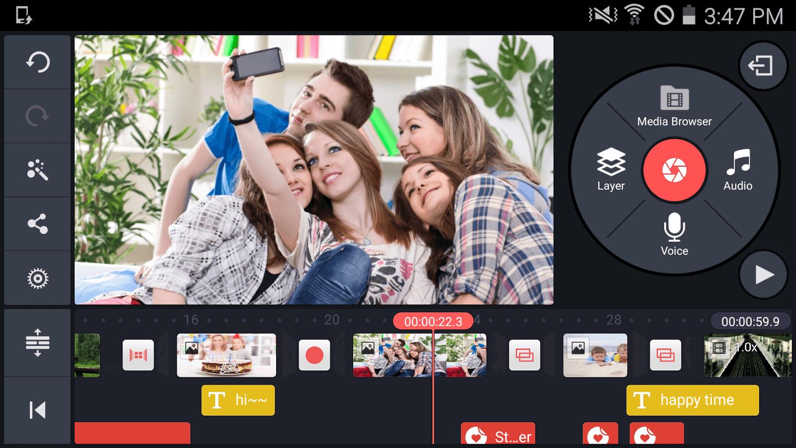 دانلود کین مستر KineMaster Pro 5.0.0.20855 ویرایشگر ویدیو اندروید