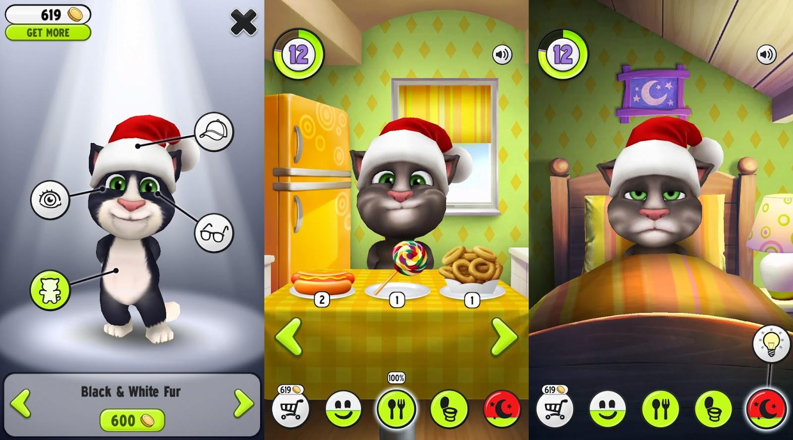 دانلود بازی تام سخنگو 5.9.0.716 My Talking Tom برای اندروید + آیفون