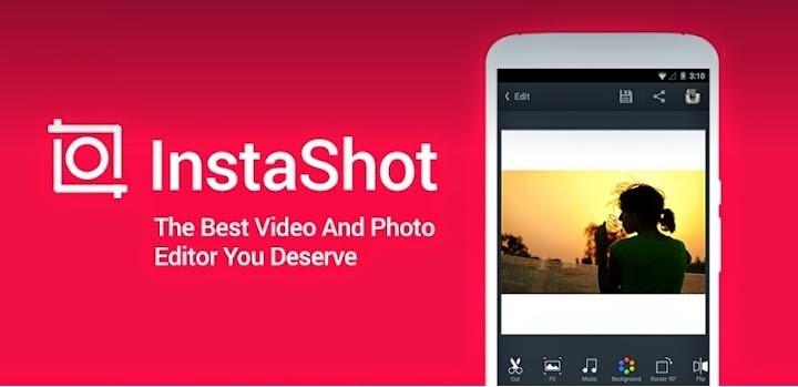دانلود InShot Video Editor 1.645.278 ارسال عکس و فیلم بدون برش در اینستاگرام
