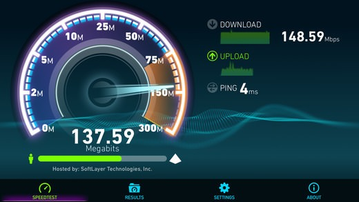 دانلود برنامه تست سرعت اینترنت 4.5.34 Speedtest by Ookla اندروید و آیفون