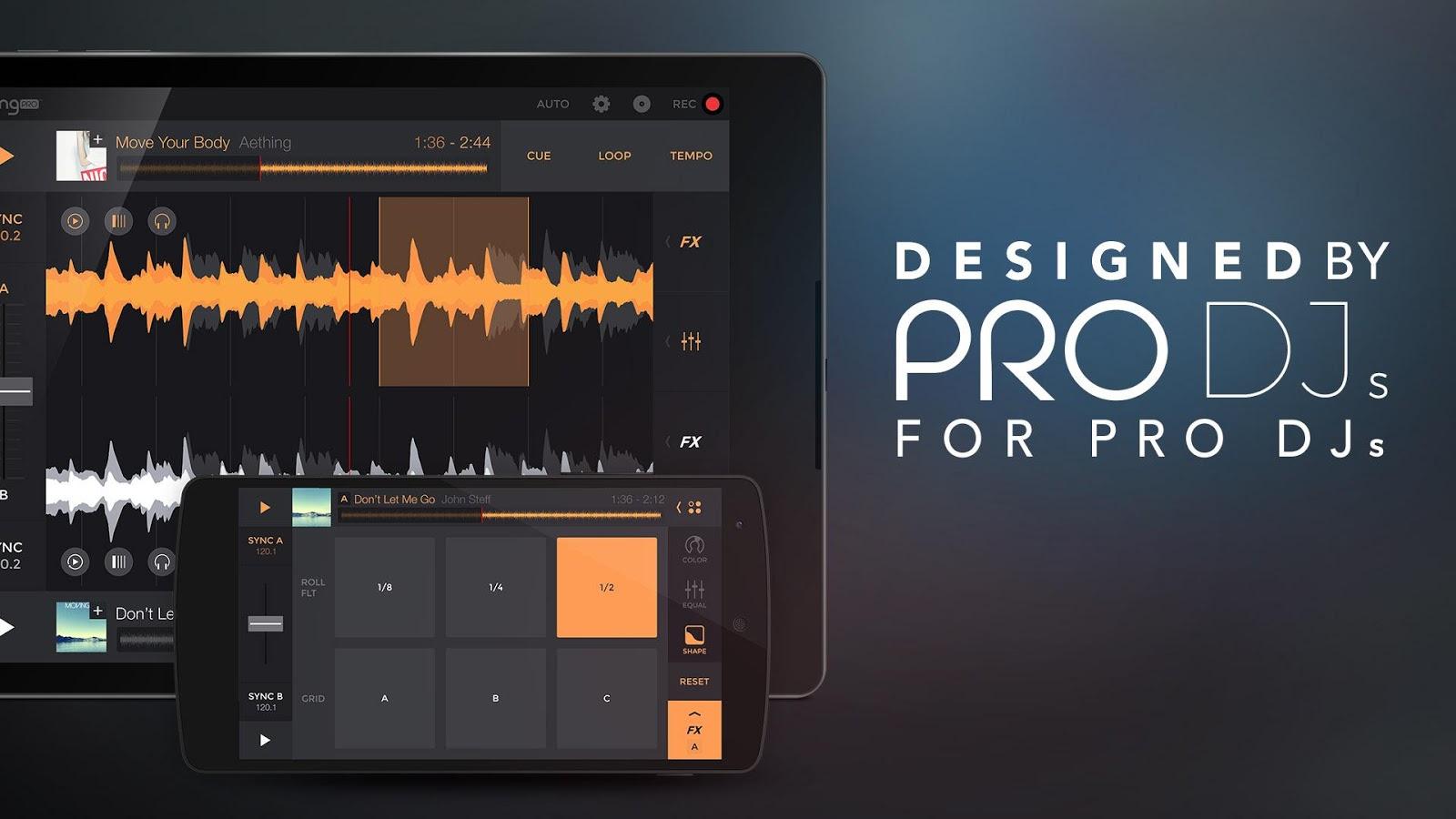دانلود برنامه میکس موزیک edjing Pro Music DJ mixer 1.06.01 اندروید