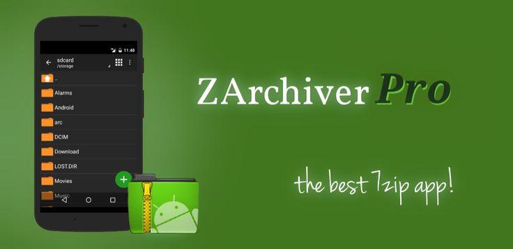 دانلود 9365-ZArchiver Donate 0.9.3 برنامه مدیریت فایل زد آرشیور اندروید