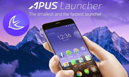 دانلود لانچر سریع آپوس APUS Launcher 3.10.27 برای اندروید