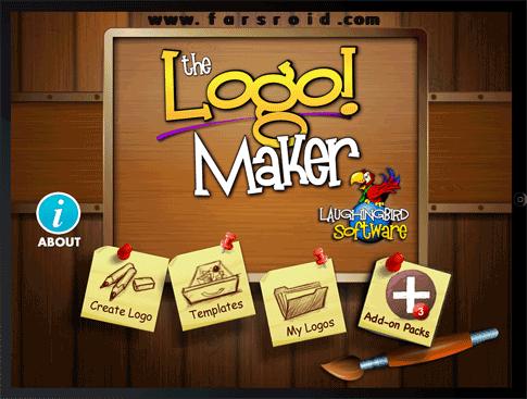 دانلود Logo Maker and Graphics 1.0.1 نرم افزار طراحی لوگو برای اندروید