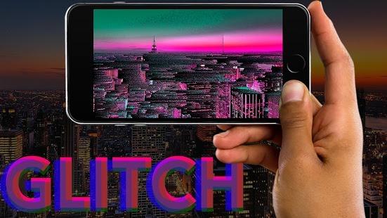 دانلود Glitch Pro 3.12.31 برنامه ویرایش ناقص و مبهم تصاویر برای اندروید