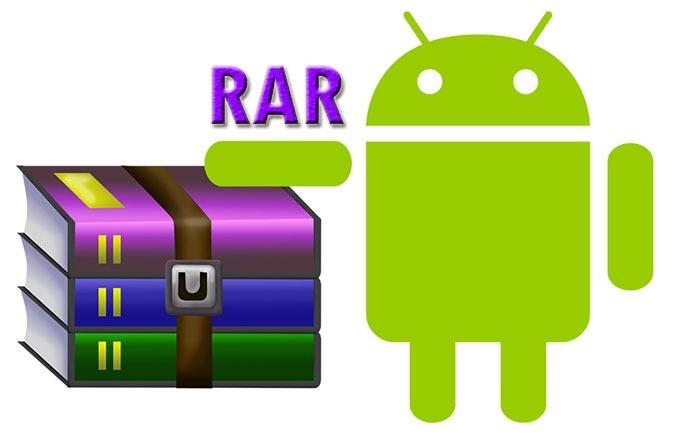 دانلود برنامه وینرار RAR for Android 5.80 build 78 برای اندروید