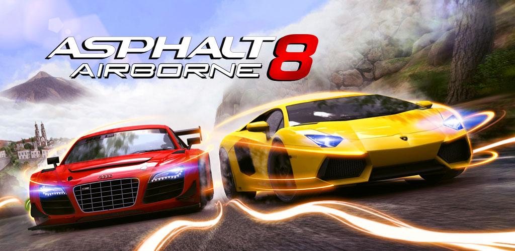 دانلود بازی آسفالت 8 Asphalt 8: Airborne 5.5.1a برای اندروید + آیفون