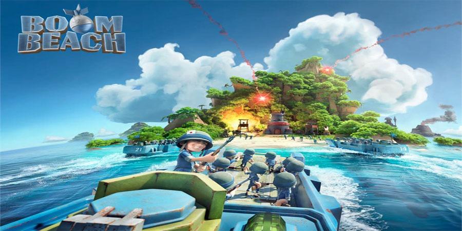 دانلود بازی بوم بیچ Boom Beach 39.73 برای اندروید + آیفون