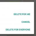 """قابلیت """"حذف پیام برای همه"""" در دسترس تمام کاربران واتس اپ قرار گرفت!"""