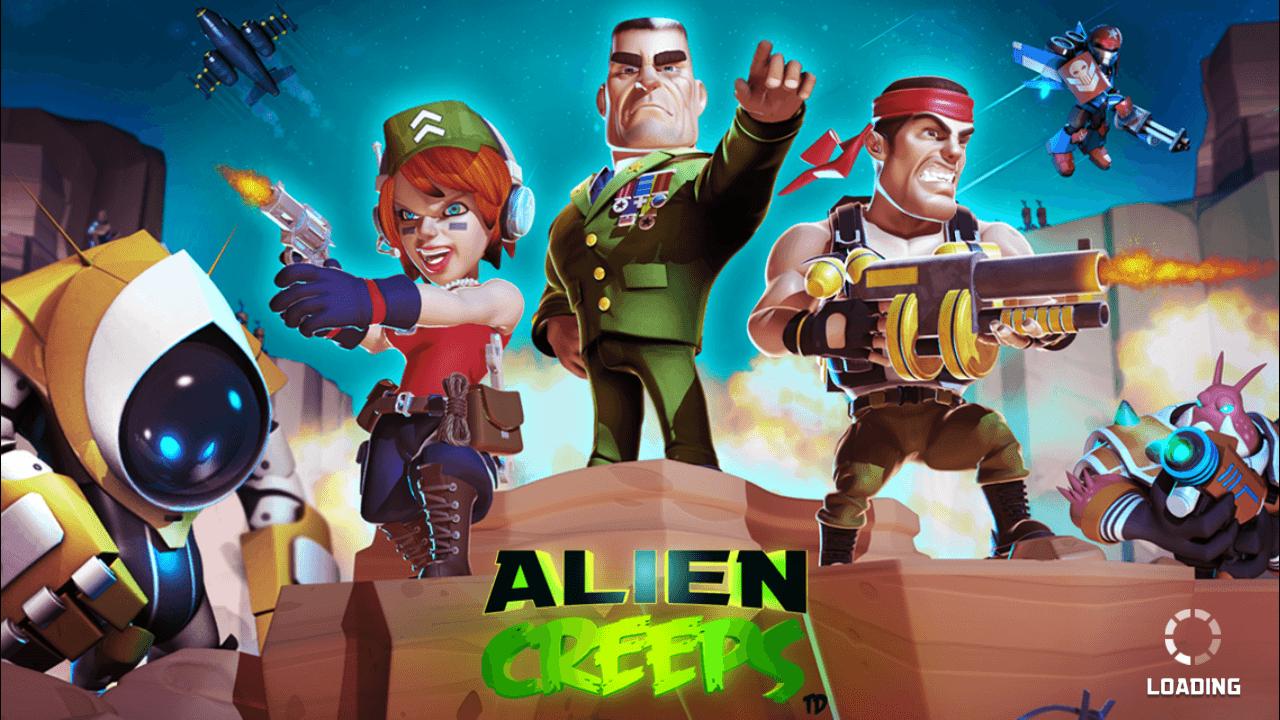 دانلود Alien Creeps TD 2.28.1 بازی خزندگان فضایی برای اندروید + آیفون