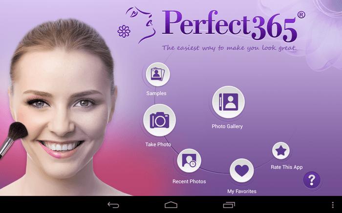 دانلود Perfect365 8.57.17 برنامه روتوش و آرایش چهره برای اندروید + آیفون