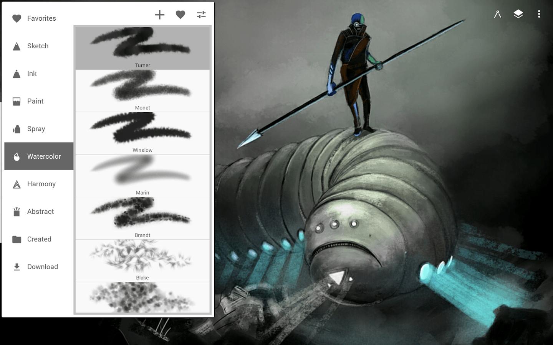 دانلود Infinite Painter 6.3.59 برنامه خلق آثار هنری شگفت انگیز برای اندروید