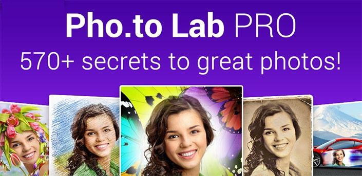 دانلود Photo Lab PRO 3.9.11 آزمایشگاه پیشرفته ویرایش عکس برای اندروید