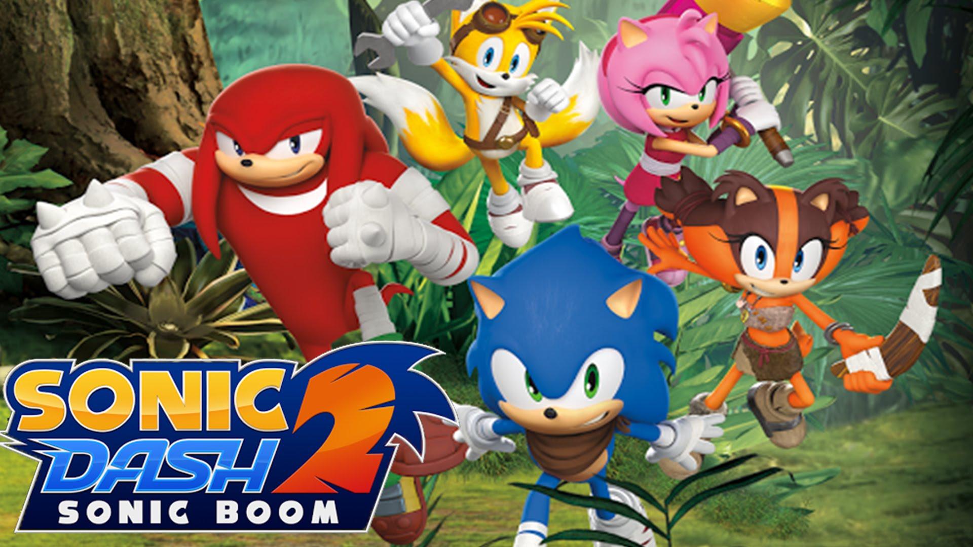 دانلود Sonic Dash 2: Sonic Boom 1.8.1 بازی سونیک دش 2 برای اندروید