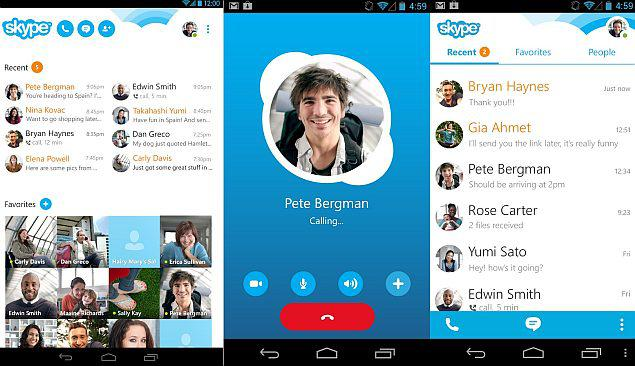 دانلود اسکایپ 8.55.0.123 Skype برای اندروید + آیفون