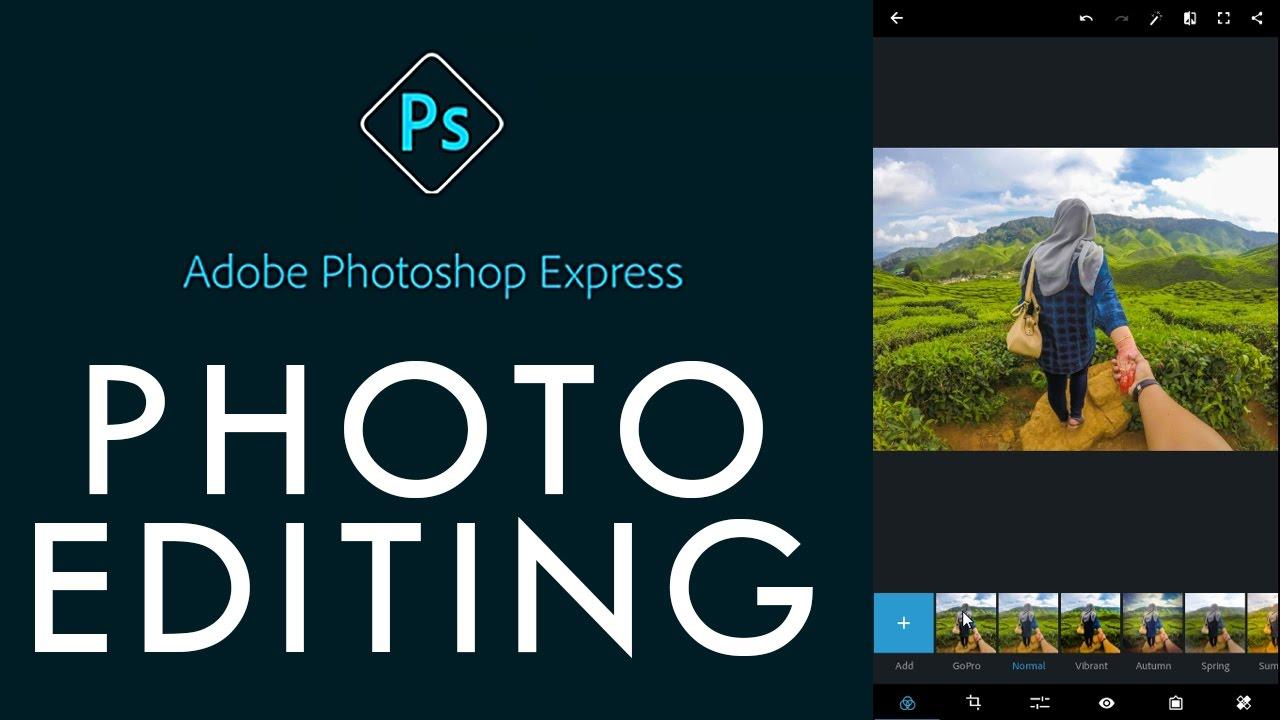 دانلود فتوشاپ اکسپرس Adobe Photoshop Express 7.3.776 اندروید