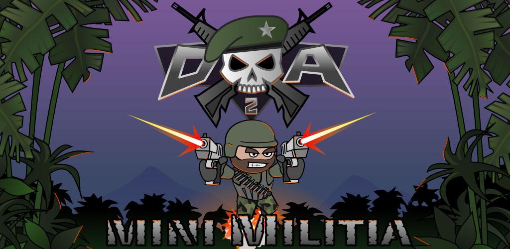 دانلود بازی دودل آرمی 2 Doodle Army 2 : Mini Militia 5.3.4 اندروید و آیفون