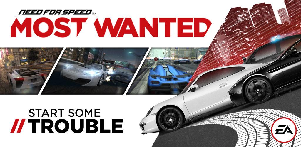 دانلود Need for Speed Most Wanted 1.3.128 نید فور اسپید ماست وانتد برای اندروید