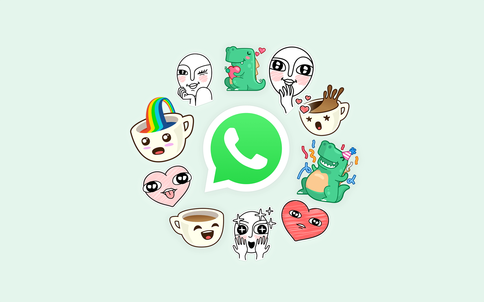 معرفی و دانلود WhatsApp Stickers استیکر واتس اپ