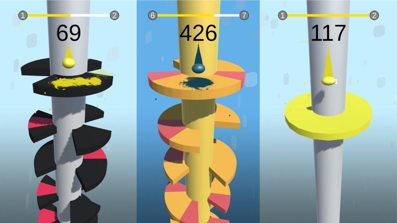 دانلود هلیکس جامپ Helix Jump 3.9.1 بازی چالش مارپیچ برای اندروید و آیفون