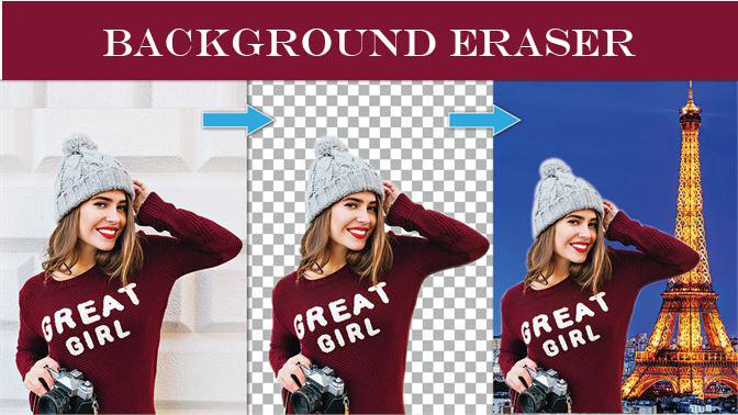 دانلود بک گراند اریزر Background Eraser 2.7.1 حذف پس زمینه تصاویر اندروید