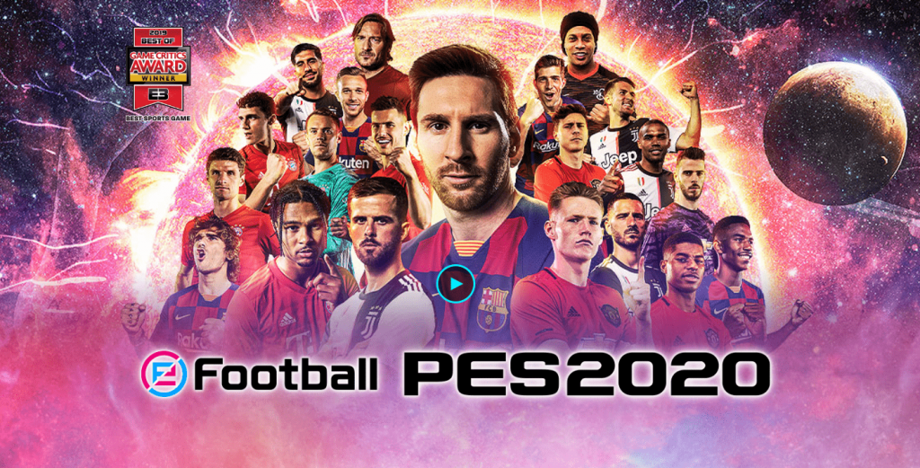 دانلود پی اس 2020 4.6.0 eFootball PES 2020 بازی فوتبال اندروید و آیفون