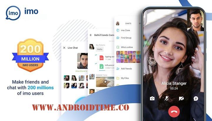 دانلود ایمو imo messenger 2020.2.11 برنامه تماس تصویری اندروید