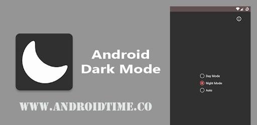 دانلود دارک مود 2.23 Dark Mode برنامه فعال سازی حالت شب برنامه های اندروید