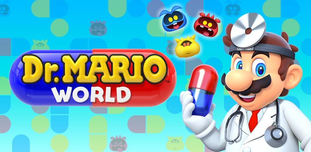 دانلود بازی دنیای دکتر ماریو Dr. Mario World 1.4.1 برای اندروید و آیفون