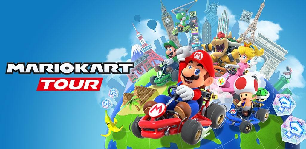 دانلود بازی ماریو کارت تور Mario Kart Tour 2.8.1 برای اندروید و آیفون