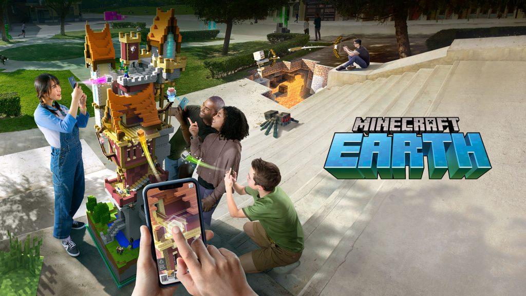 دانلود بازی ماینکرافت ارث Minecraft Earth 0.20.0 برای اندروید و آیفون