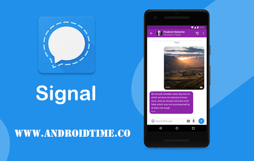 دانلود سیگنال مسنجر Signal Private Messenger 4.65.2 برای اندروید و آیفون