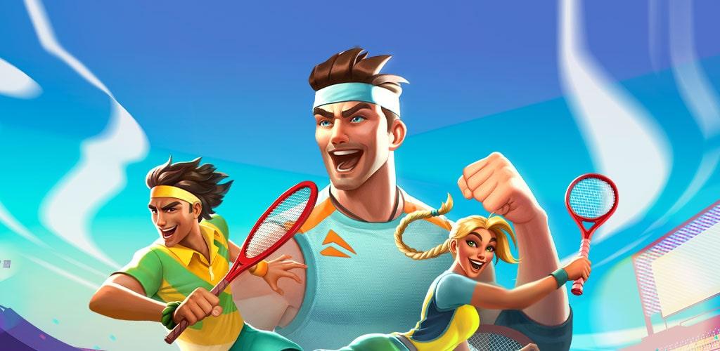 دانلود بازی تنیس کلش Tennis Clash: 3D Sports 1.23.0 برای اندروید و آیفون
