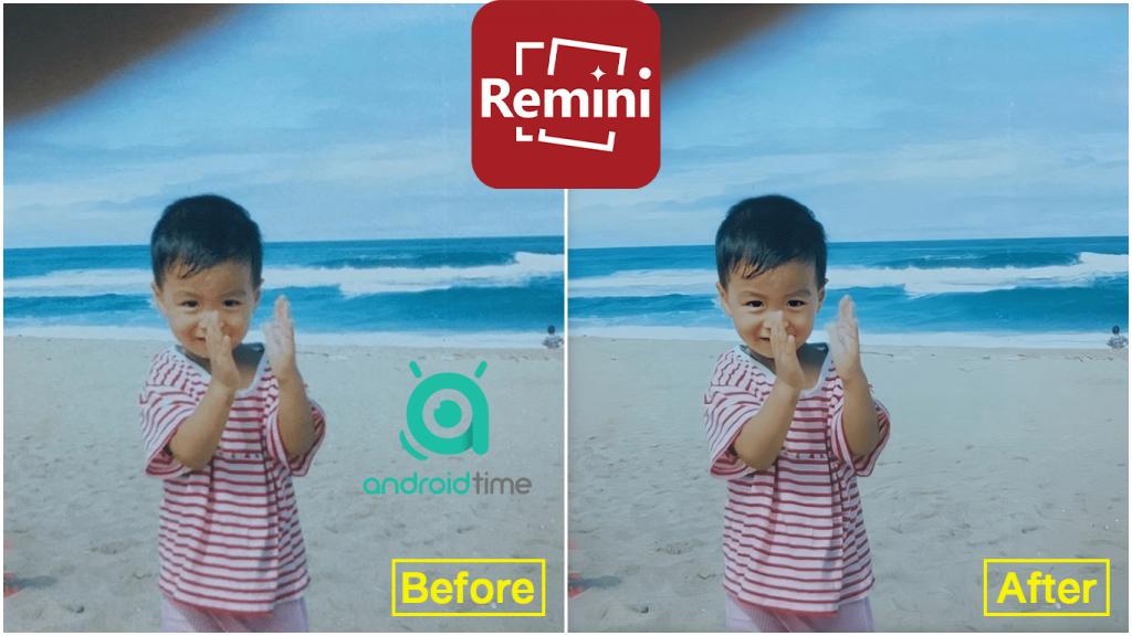 دانلود رمینی 1.6.4 Remini برنامه افزایش کیفیت تصاویر برای اندروید و آیفون