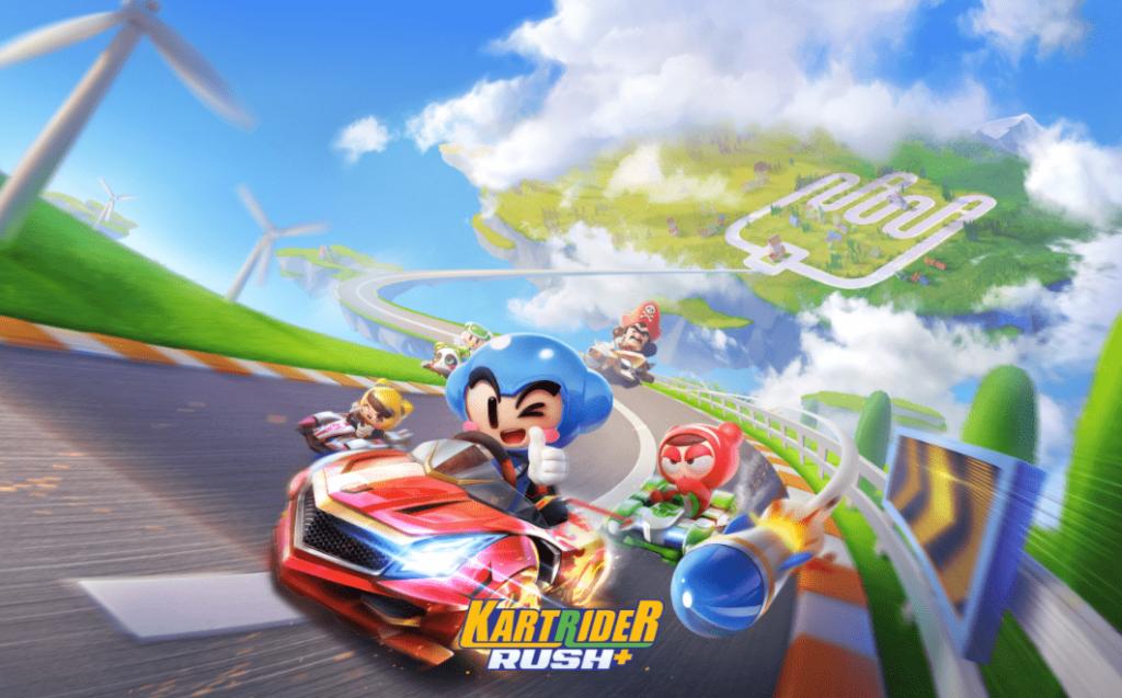دانلود بازی کارت رایدر راش پلاس KartRider Rush+ 1.9.8 برای اندروید و آیفون