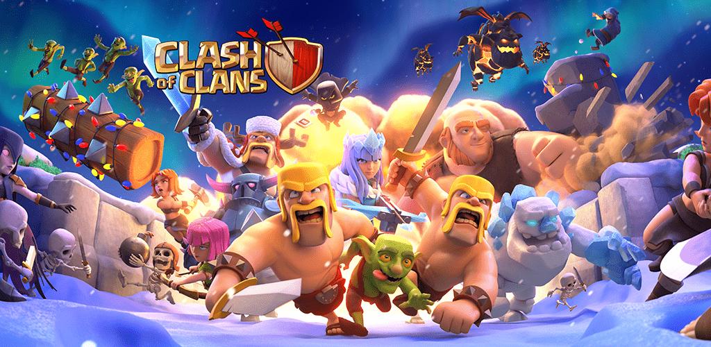 دانلود بازی کلش اف کلنز Clash of Clans برای اندروید + آیفون