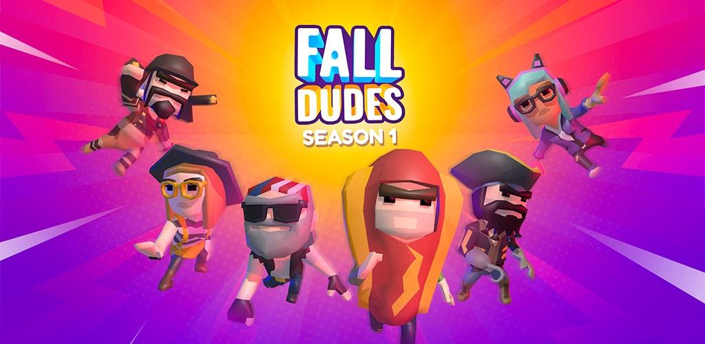 دانلود بازی فال دودز بتل رویال 1.3.8 Fall Dudes برای اندروید و آیفون