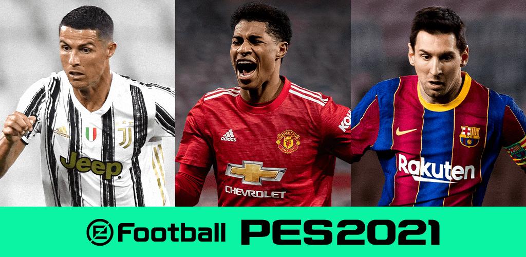 دانلود پی اس 2021 5.5.0 eFootball PES 2021 بازی فوتبال اندروید و آیفون