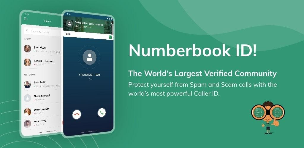 دانلود نامبر بوک NumberBook برنامه شناسایی شماره مزاحم برای اندروید